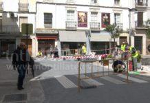 Obras Plaza de la Inmaculada