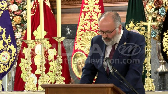 Rafael Delgado Pregonero Semana Santa Montilla 2019