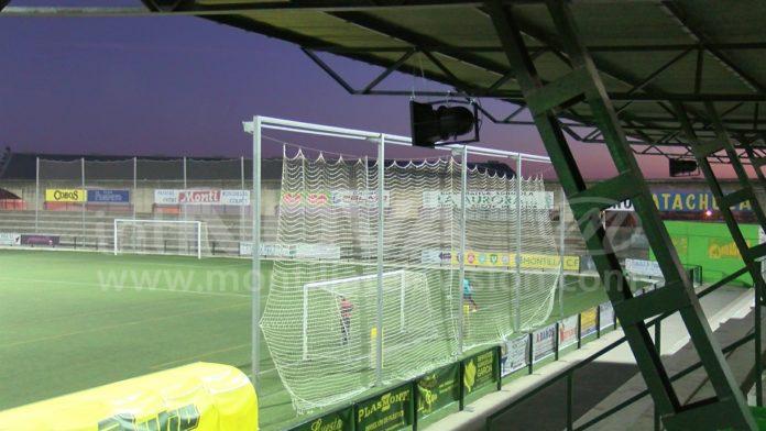 Megafonía campo de fútbol