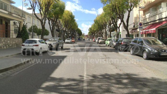 Calle vacía MONTILLA COVID19 2020