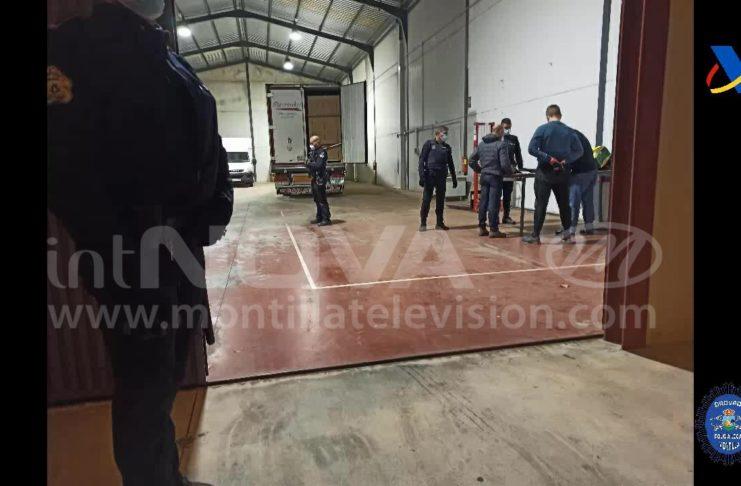 OPERACIÓN CONTRA TABACO MONTILLA