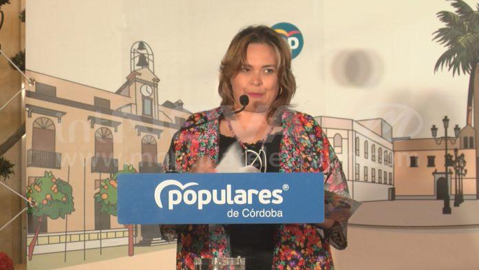 Auxiliadora Moreno Presidente Local Partido Popular