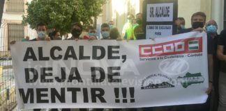 PROTESTAS POLICÍA LOCAL